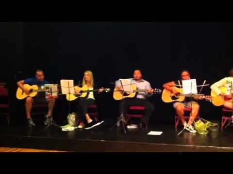 Guitar graduation - Old Town School of Folk Music, Chicago