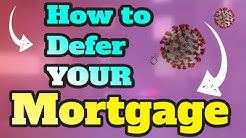 *** Mortgage Deferral | How To Defer Your Mortgage Payment CANADA ***
