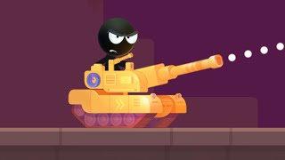 Stick Tank Wars // Gameplay
