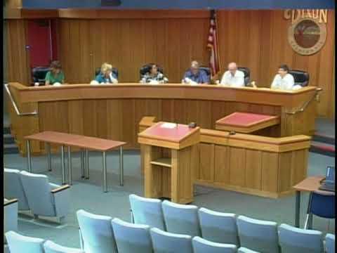 City of Dixon Oversight Board Meeting June 27 2018