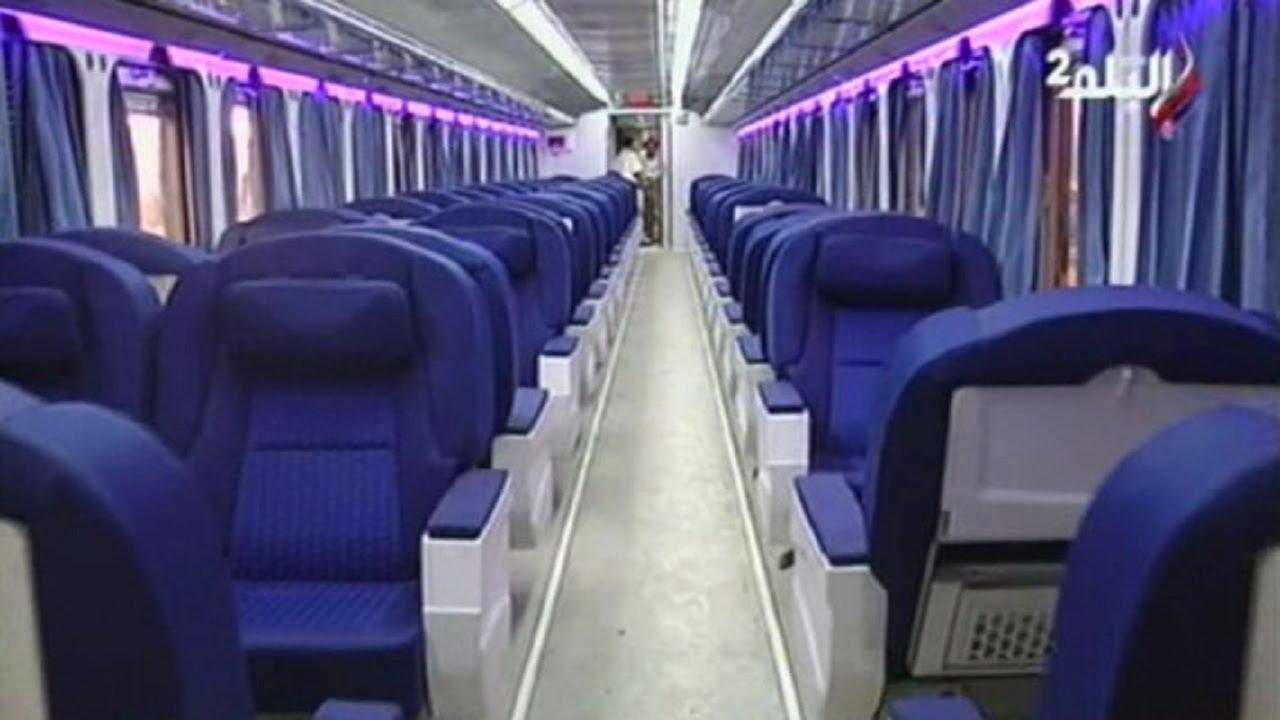 78e5c9690 تشغيل أول قطار مكيف
