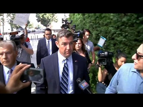Rep. Duncan Hunter pleads not guilty to campaign finance misuse