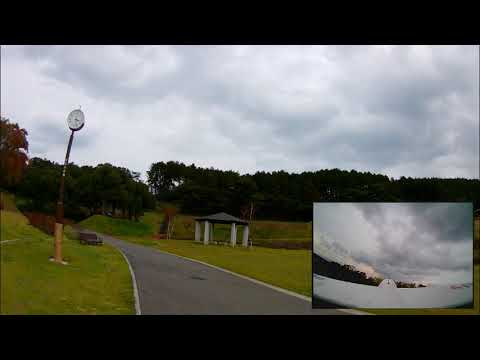 XK A110 MQ-9 Reaper Drone Three Channel RC Airplane Flight Test