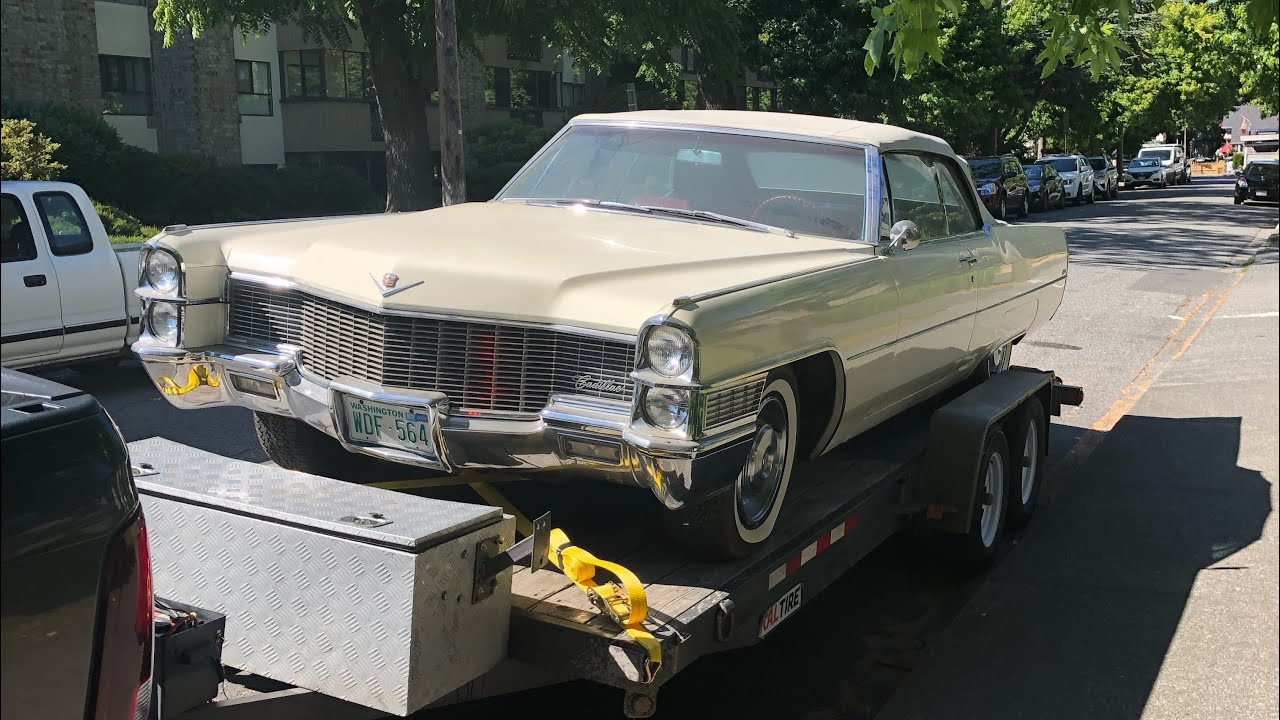 65' Cadillac Almost Destroyed By Fire! (Why You Should Not Rush)