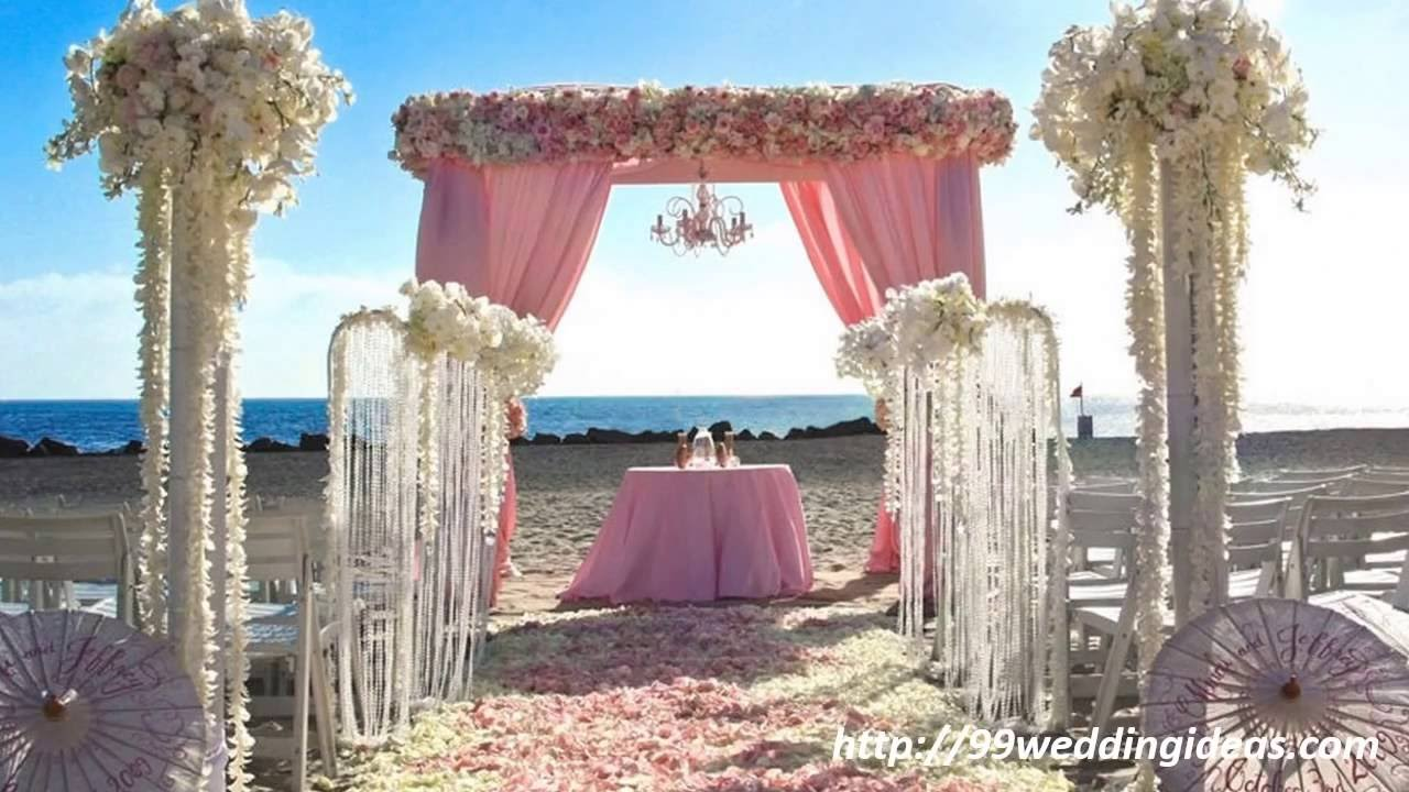 Beach Wedding Ideas - 99WeddingIdeas.com - YouTube