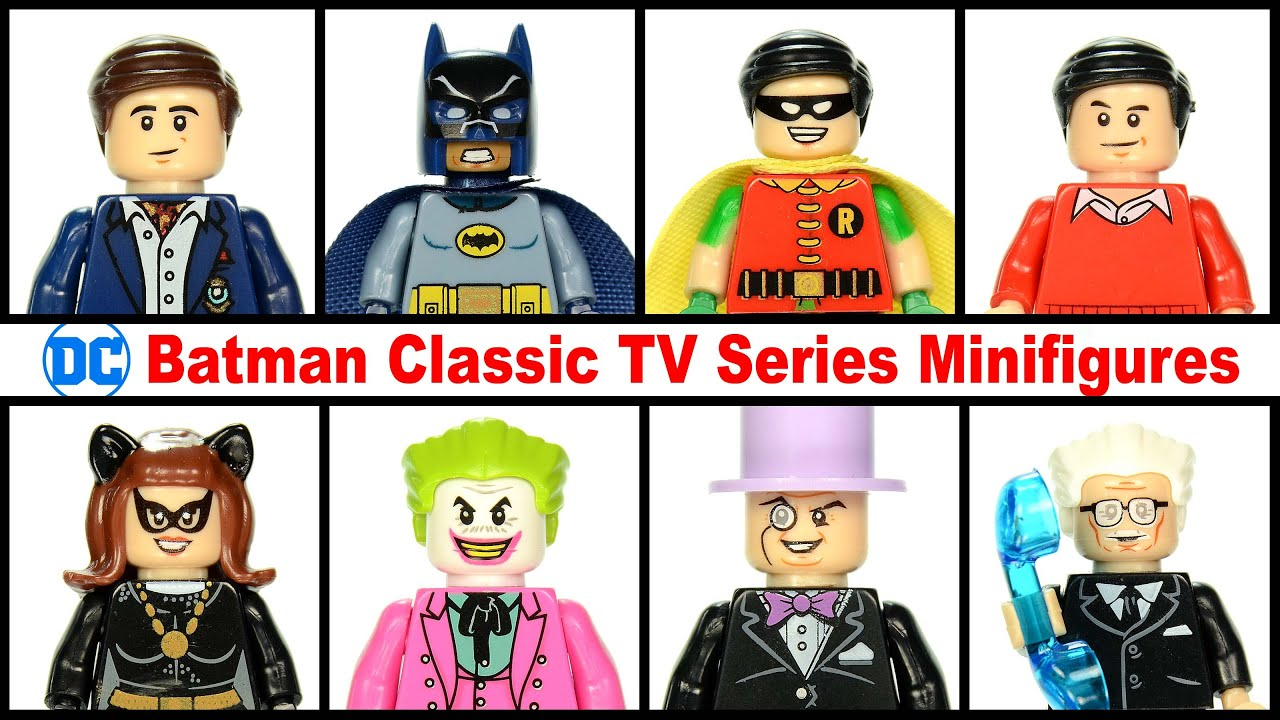 New DC Villain Lego Minifigure The Penguin From The TV Show Gotham