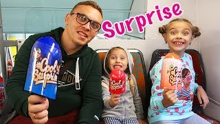ICE CREAM SURPRISE   Surprize in TREN   New Toys for Kids