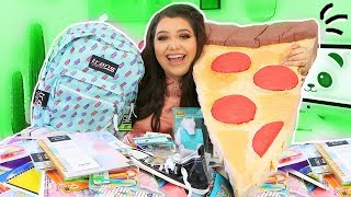 Back To School Supplies Haul 2018.. GIANT SQUISHY + Must Have School Supplies!