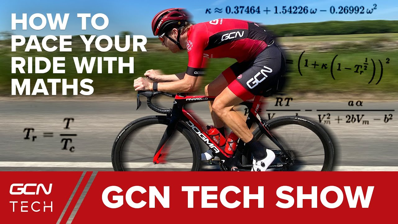 How To Pace Your Bike Ride With Maths | GCN Tech Show Ep. 126