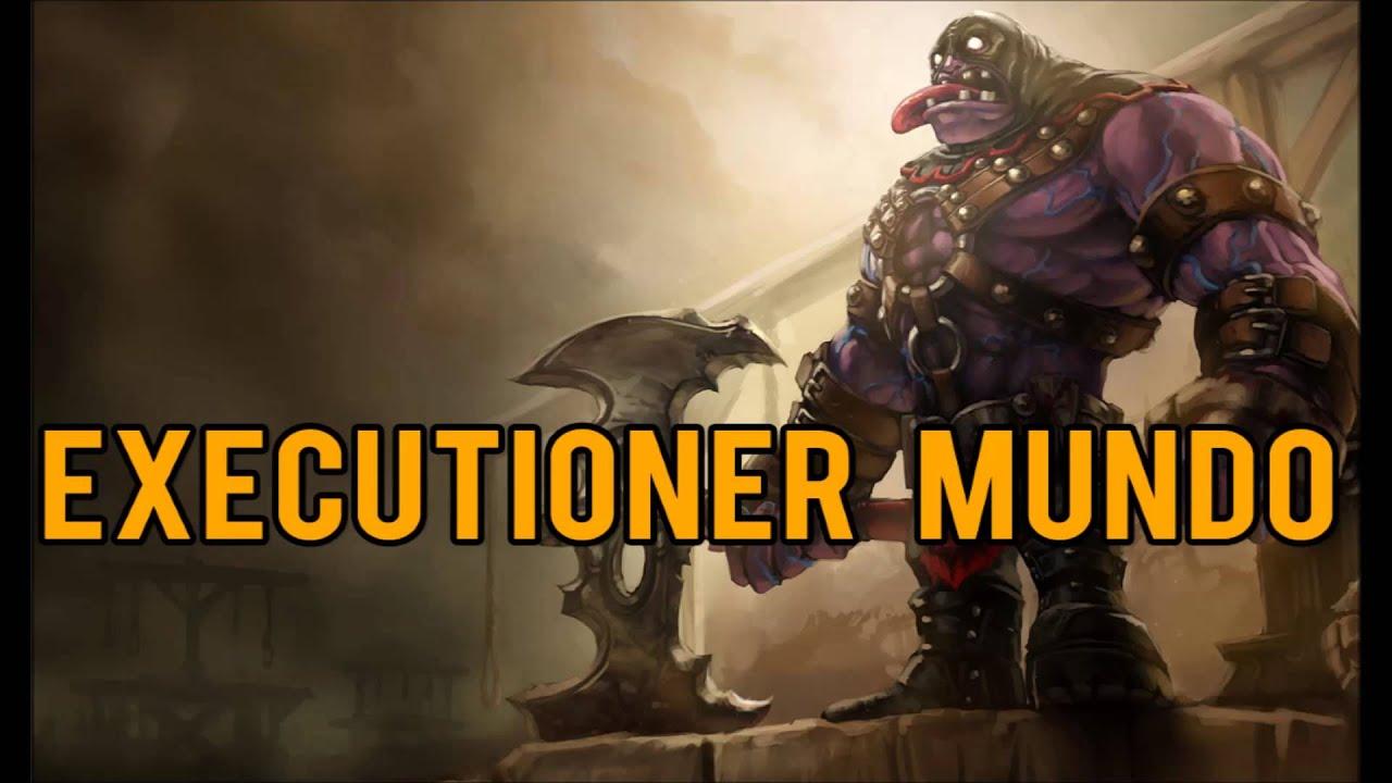 League of Legends - Executioner Mundo Skin - YouTube  Executioner