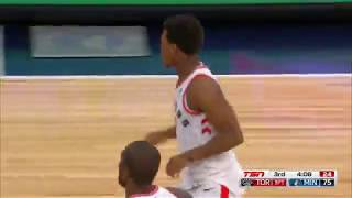 Raptors Highlights: Lowry Three - January 20, 2018