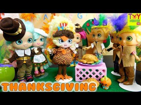 🦃Shoppies Thanksgiving School Play 🦃