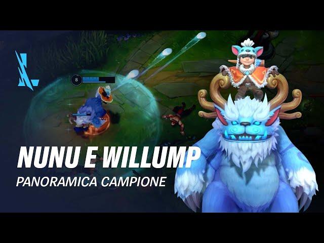 Panoramica campione Nunu e Willump | Gameplay - League of Legends: Wild Rift