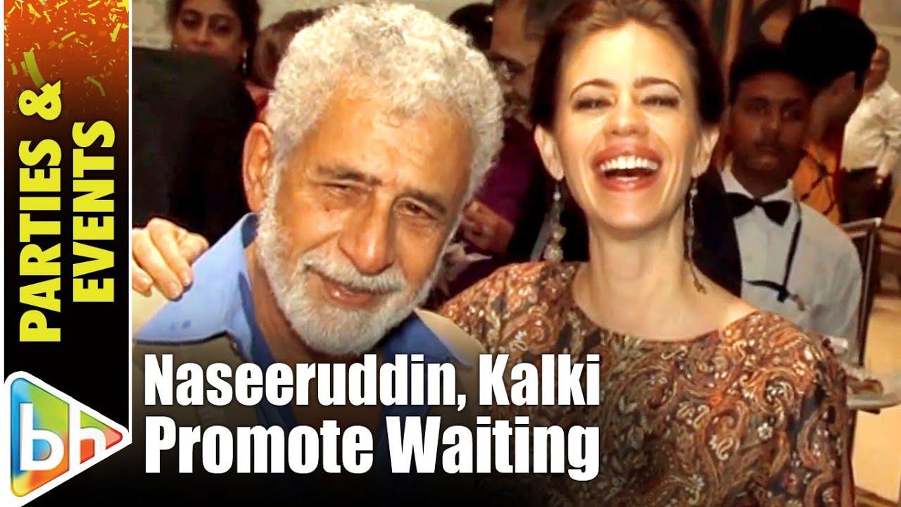 Download Naseeruddin Shah   Kalki Koechlin Promote 'Waiting'