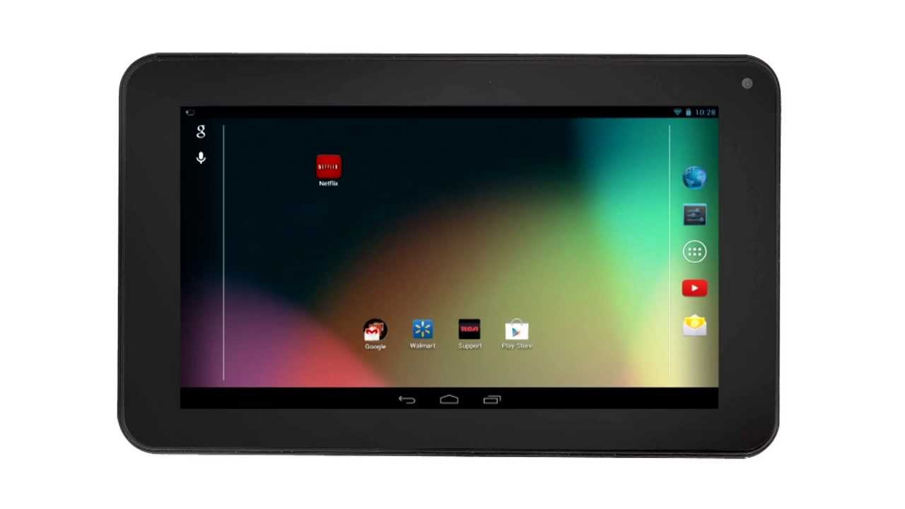 Rca tablets apps management on the rca tablet android 4 for App tablet android gratis