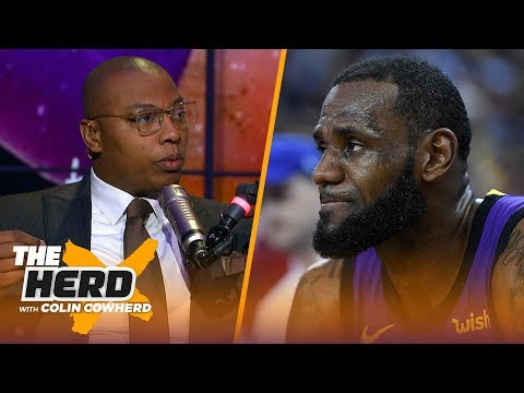 Caron Butler talks the Lakers without LeBron, Warriors concerns, Kyrie and more | NBA | THE HERD