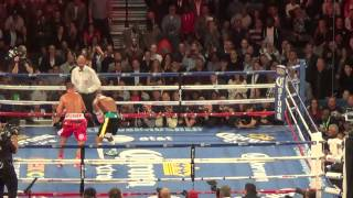 Bernard Hopkins Vs. Sergey Kovalev ROUND 12 11/8/14