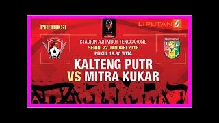 Download Berita Terkini   Cuplikan Video Mitra Kukar Tekuk Kalteng Putra Mp3 and Videos