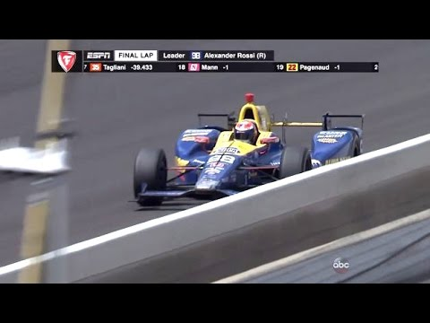 Final Lap Indianapolis 500 (100th Running) Coming In On Fumes!!
