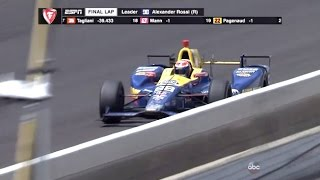 Final Lap Indianapolis 500 (100th Running) Coming In On Fumes!! by : MrTreknation