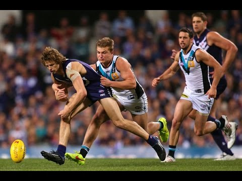 Fremantle Dockers vs Port Adelaide Power 2014 AFL Semi-Final Q4