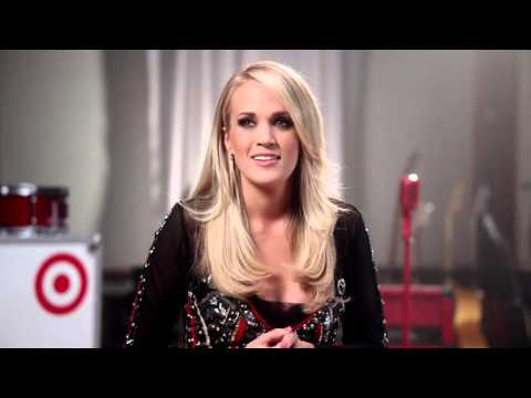 Carrie Underwood + Target on 'Little Girl Don't Grow Up Too Fast'
