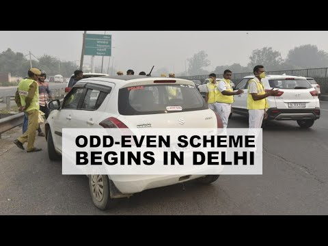 Odd-Even scheme begins as Delhi's air quality remains in 'severe' category