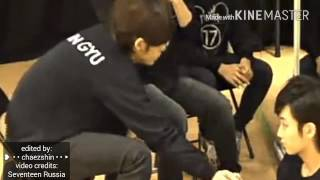 [ #GYUHAN ]   Mingyu And His Hands