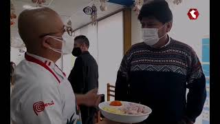 Evo Morales aprendió a prepara…