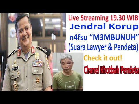 """Jendral Korup dengan n4fsu """"M3MBUNUH"""" (Suara Lawyer & Para Pendeta"""