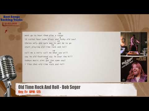 Old Time Rock And Roll Bob Seger Vocal Backing Track With Chords