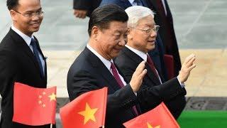 Lễ đón Chủ tịch Trung Quốc Tập Cận Bình ngày 12/11