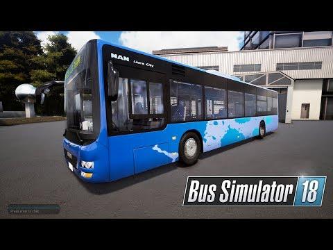 Bus Simulator 18 #4 - Tuyến xe buýt cuối buổi chiều cùng lơ xe | ND Gaming |