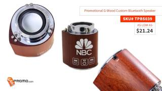 Promotional Bluetooth Speaker | Custom Bluetooth Speaker Promotional Item with Logo at C2BPromo.com