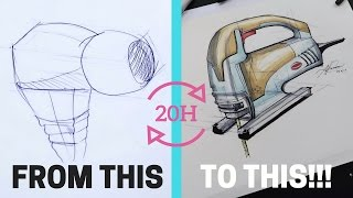 Learn Design Drawing In Just 20 Hours!