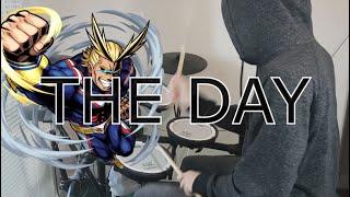 Boku no Hero Academia S1 OP Full『THE DAY/Porno Graffitti』(僕のヒーローアカデミア) Drum Cover (叩いてみた)