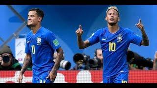 BRESIL vs COSTA RICA 2-0 & 2018 HD.