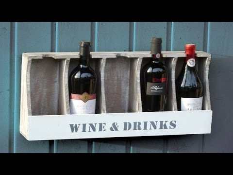 видео: Полка для вина своими руками