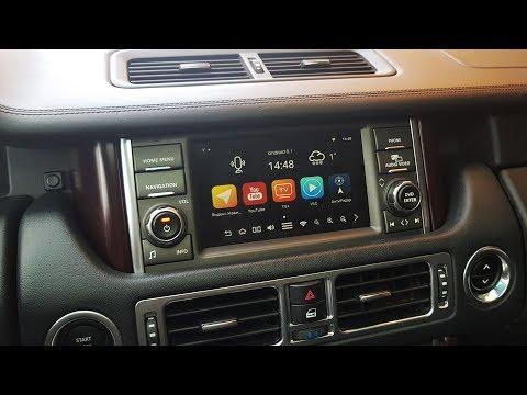 Range Rover 2009-2012 и блок навигации ROiK10 C OS Android 8.1.0