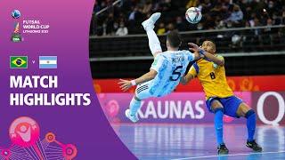 Brazil v Argentina | FIFA Futsal World Cup 2021
