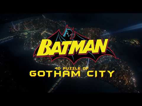 Batman - Miniature Model Gotham City - 4D Cityscape Jigsaw Puzzle