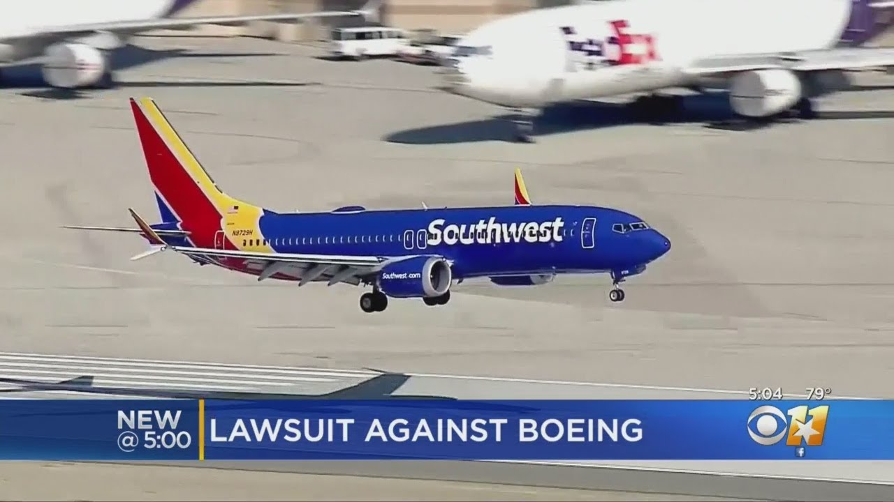 Southwest Airlines Pilots Sue Boeing For $100 Million