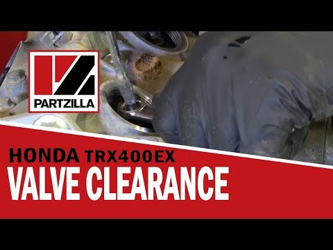 Honda ATV Valve Clearance Adjustment on TRX 400EX | Partzilla com