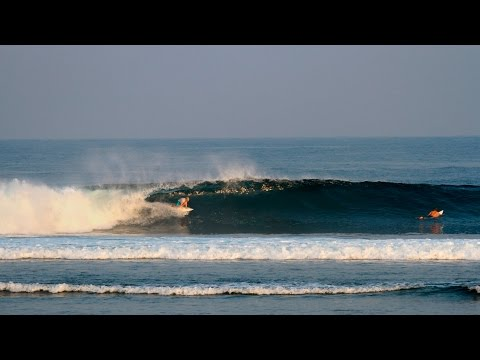 Surfing Ujung Bocor, (Krui) South Sumatra Part I