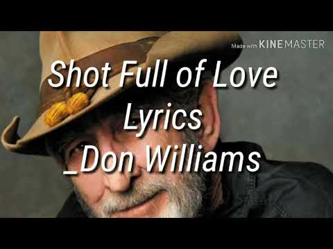 Shot Full of Love(Don Williams)Lyrics