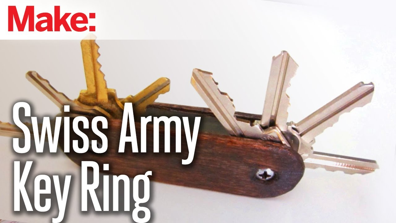 Diy Hacks Amp How To S Swiss Army Key Ring Youtube