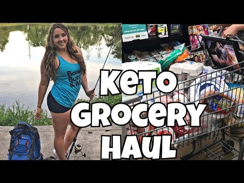 Keto Full Day of Eating | BIG Keto Grocery Haul | Getting Back on Track!
