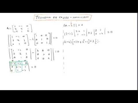 Teorema de Cayley - Hamilton | Matriz Inversa (3er Método)