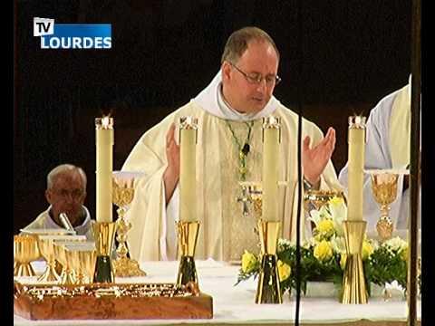 Lourdes Messe Internationale du mercredi 19 août 2015-International Mass (France)