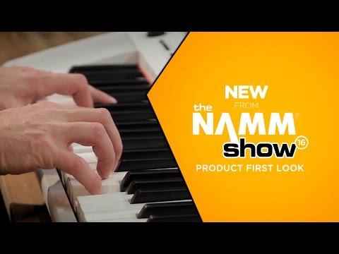 NAMM 2016 - NP12 & NP32 Piaggero Portable Digital Piano Series